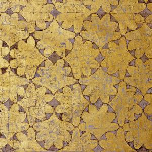 Blader i gull. B: 146 cm H: 114 cm. 2008. Foto: Nordenfjeldske. Innkjøpt av St. Olavs Hospital i Trondheim.