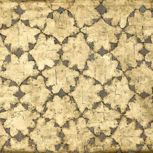 Blader i gull. B: 146 cm H: 114 cm. 2008. Foto: Atle Johnsen