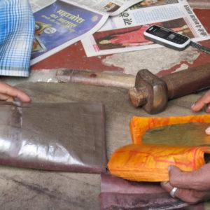 Produksjon av bladgull og bladsølv